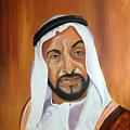 Sheikh Zayed Bin Sultan Al Nahyan by Fiona Jack