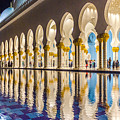 Sheikh Zayed Mosque Reflections by Yogendra Joshi