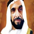 Sheikh Zayed by Shahid Baloch