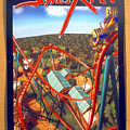Sheikra Ride Poster 2 by David Lee Thompson