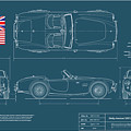 Shelby-american 289 Cobra by Douglas Switzer