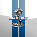 Shelby Cobra - 3d Badge by Serge Averbukh