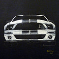 Shelby Mustang Front by Richard Le Page