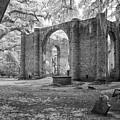 Sheldon Church Ruins by Cindy Archbell