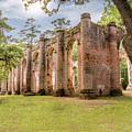 Sheldon Church Ruins by Drew Castelhano