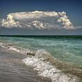 Shells, Surf And Summer Sky by Greg Mimbs