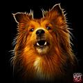 Sheltie Dog Art 0207 - Bb by James Ahn