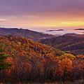 Shenandoah Autumn Sunrise by Brian Simpson