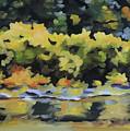 Shenandoah River Bank by Anne Lewis