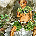 Shennong, Chinese Deity Of Medicine by Wellcome Images