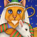 Shepherd Cat by Carol Wilson