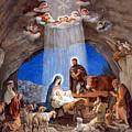 Shepherds Field Nativity Painting by Munir Alawi
