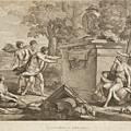Shepherds In Arcadia by Thomas Kirk