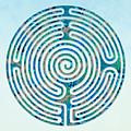 Shepherd's Race - Blues by Fine Art Labyrinths
