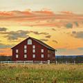 Sherfy Barn by Jen Goellnitz