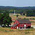 Sherfy Farm Barn Gettysburg Battlefield by James Brunker