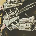 Sheriff Guns by Jorgo Photography - Wall Art Gallery