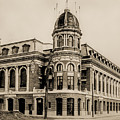 Shibe Park 1913 In Sepia by Bill Cannon