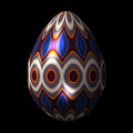Shimmering Christmas Ornament Egg by Hakon Soreide