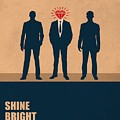 Shine Bright Like A Diamond Corporate Start-up Quotes Poster by Lab No 4