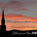 Shining Light by David and Carol Kelly