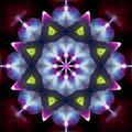 Shining Star Mandala by Yulia Kazansky