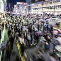 Shinjuku People Rush by Didier Marti