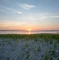 Shinnecock Bay Sunrise by Julie Waldner