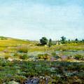 Shinnecock Hills, Summer - William Merritt Chase by William Merritt Chase