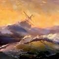 Ship In Trouble H B by Gert J Rheeders