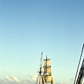 Ship Off The Bow by Douglas Barnett