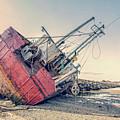 Shipwreck Provincetown Breakwater by Edward Fielding