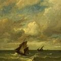 Shipping In A Breeze by Dupre Jules