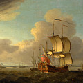Shipping In The Thames Estuary by Thomas Mellish