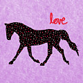 Horse, Love And Hearts by Patricia Barmatz