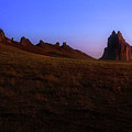 Shiprock Under The Stars - Sunrise - New Mexico - Landscape by Jason Politte