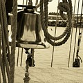 Ship's Bell Sepia by Mark Cheney