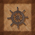 Ship's Wheel by Tom Mc Nemar