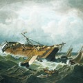 Shipwreck Off Nantucket by MotionAge Designs
