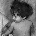 Shirtless Baby by Ylli Haruni