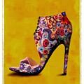 Shoe Illustration 1 by Jann Paxton