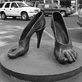 Shoe Sculpture Grand Junction Co by Tommy Anderson