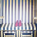 Shoes In A Beach Chair by Joana Kruse