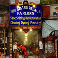 Shoeshine - The Grand Palace Parlors 1922 by Mike Savad