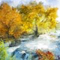 Shohola Falls Autumn by Francesa Miller