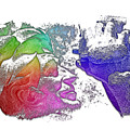 Shoot For The Sky Cool Rainbow 3 Dimensional by Di Designs