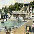 Shoot The Chutes.1907 White City   by Mark Tonelli