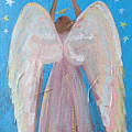 Shooting Star Angel by Robin Maria Pedrero