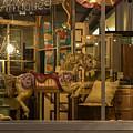 Shop Window At Night by Robert Potts