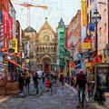 Shopping In Dublin by Les Palenik
